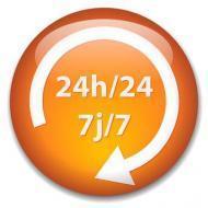 Ouvert 24h/24 7j/7
